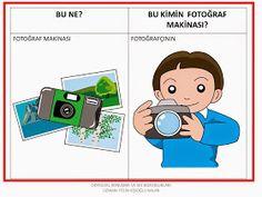 ODYOLOG, KONUŞMA ve SES BOZUKLUKLARI UZMANI PELİN KİŞİOĞLU KALAN: BU NE? ---BU KİMİN? ÇALIŞMA SAYFALARI Learn Turkish, Home Schooling, Speech Therapy, Family Guy, Clip Art, Education, Learning, Flashcard, Fictional Characters