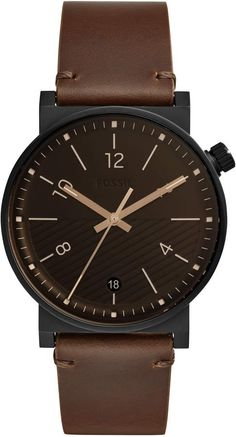 aa71079f395 27 Best Brown Leather Strap Watch images