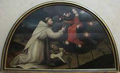 Suor Plautilla de' Nelli, San Domenico riceve il rosario dalla Vergine