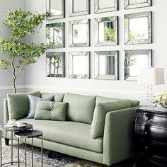 How To Decorate With Mirrors 30 ways to decorate with mirrors---love the pic of the mirror