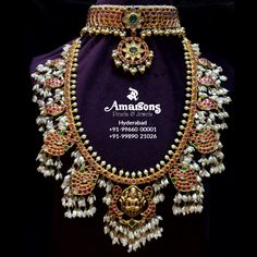 🔥😍 Guttapusalu Lakshmi Gold Necklace and Kundan Gold Choker from @amarsonsjewellery⠀ ⠀⠀⠀⠀⠀⠀⠀⠀⠀⠀⠀⠀⠀⠀⠀⠀⠀⠀⠀⠀⠀.⠀⠀⠀⠀⠀ ⠀ For any inquiry DM now👉: @amarsonsjewellery⠀⠀⠀⠀⠀⠀⠀⠀⠀⠀⠀⠀⠀⠀⠀⠀⠀⠀⠀⠀⠀⠀⠀⠀⠀⠀⠀⠀⠀⠀⠀⠀⠀⠀⠀⠀⠀⠀⠀⠀⠀⠀⠀⠀⠀⠀⠀⠀⠀⠀⠀⠀⠀⠀⠀⠀⠀⠀⠀⠀⠀⠀⠀⠀⠀⠀⠀⠀⠀⠀⠀⠀⠀⠀⠀⠀⠀ For More Info DM @amarsonsjewellery OR 📲Whatsapp on : +91-9966000001 +91-8008899866.⠀⠀⠀⠀⠀⠀⠀⠀⠀⠀⠀⠀⠀⠀⠀.⠀⠀⠀⠀⠀⠀⠀⠀⠀⠀⠀⠀⠀⠀⠀⠀⠀⠀⠀⠀⠀⠀⠀⠀⠀⠀⠀ ✈️ Door step Delivery Available Across the World ⠀⠀⠀⠀⠀⠀⠀⠀⠀⠀⠀⠀⠀⠀⠀⠀⠀⠀⠀⠀⠀⠀⠀⠀⠀⠀⠀ .⠀ #amarsonsjewellery #yourtrustisourpriority #goldearr South Indian Jewellery, Indian Jewellery Design, Indian Jewelry, Jewelry Design, Gold Temple Jewellery, Gold Jewelry, Gold Choker, Gold Necklace, Wedding Jewelry