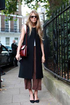 Street Style From London Fashion Week, Part Three  Monica Ainley #LFW #pajamas