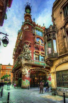 Palais de la musique, Barcelone.