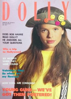 DOLLY Magazine Covers — Double Denim Days Retro Fashion, Vintage Fashion, Young Guns, Double Denim, Magazine Covers, Retro Vintage, February, This Or That Questions