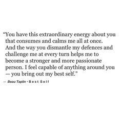 Best self. [Beau Taplin]