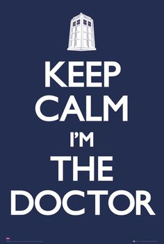 Doctor Who-Keep Calm Poster
