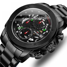 Sports Watch WristWatches Chronograph Waterproof //Price: $35.03 & FREE Shipping // #jewelry #styles #eyes