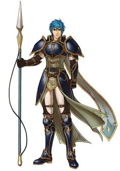 Geoffrey - Fire Emblem; character from Fire Emblem: Path of Radiance & Radiant Dawn. He is a Crimean general, & commander of the Crimean Royal Knights. Geoffrey is the younger brother of Lucia, & is Elincia's milk sibling & close friend of Bastian. renowned for being an individual who takes his duties very seriously,& often comes into odds with the Crimean nobles.