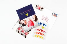 Personalizing Mixbook Holiday Photo Cards
