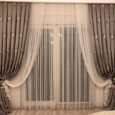 Perde The best way to DIY Cheap Curtain Panels: One Day Guest Room Refresh. Cheap Home Decor: Ea Living Room Decor Curtains, Home Curtains, Curtains With Blinds, Country Curtains, Curtain Panels, Window Curtains, Luxury Curtains, Elegant Curtains, Modern Curtains