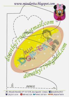 Este es el molde del video Como hacer Gorra de Minnie, Goma Eva, Microporoso, este modelo es distinto al anterior y en la fiesta de tus niño... Felt Crafts, Diy And Crafts, Mickey Mouse, Disney Plush, Mini Mouse, Paper Piecing Patterns, Ideas Para Fiestas, Party Hats, Paper Flowers