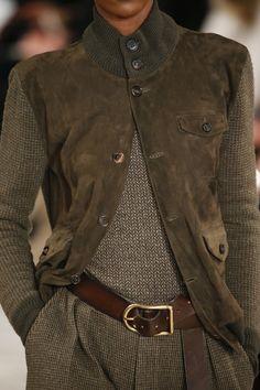 *****Ralph Lauren Fall 2016 Ready-to-Wear Fashion Show Details