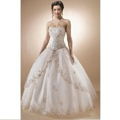 disney princess wedding gowns; I love these gowns I would love to have one if i ever made that leap again:X