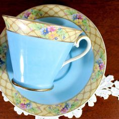 Vintage Japanese Teacup, N&C Tea Cup and Saucer 12260