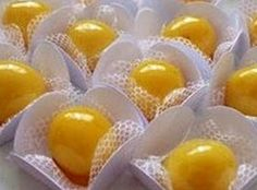 VillarteDesign Artesanato: Docinhos de ovos caramelados - Dica de receita culinária prática, com visual gourmet