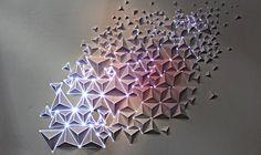 @joanielemercier #origami #artsnumériques #numérique #projection #mapping