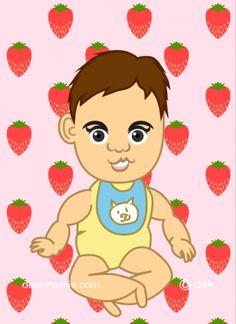 赤ちゃん似顔絵メーカーアプリ
