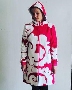 Tb  #Marimekko #ecological #madeinfinland #ecodesign #coat #slowfashion #hoppudesign #eco #retro