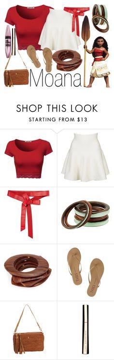 Moana by basic-disney Princess Inspired Outfits, Disney Themed Outfits, Character Inspired Outfits, Disney Bound Outfits, Disney Dresses, Moana Birthday Party, Moana Party, 5th Birthday, Birthday Ideas