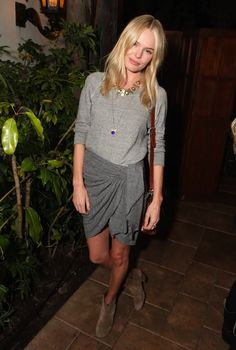 Kate Bosworth media gallery on Coolspotters. See photos, videos, and links of Kate Bosworth. Fashion Moda, Look Fashion, Fashion Outfits, Girl Fashion, Kate Bosworth Style, Krysten Ritter, Keri Russell, Beige Outfit, Kirsten Dunst