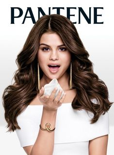"February 26: Promotional photo of Selena for her 2016 Pantene ""Strong Is Beautiful"" campaign [GP]"