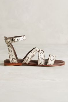 Ariana Bohling Liv Snake Sandals - anthropologie.com #anthrofave