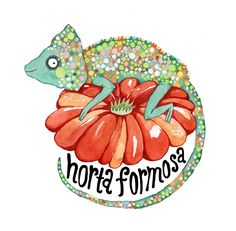 Horta Formosa.  Watercolor on paper © 2012 Joana Rosa Bragança
