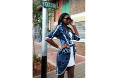 "African Prints in Fashion: ""Beautiful, Sopisticated, African"": Thabo Makhetha African Inspired Fashion, African Print Fashion, Africa Fashion, Fashion Prints, Fashion Design, African Prints, Fashion Ideas, Ankara Fashion, Fashion Brand"
