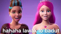 Barbie Jokes, Stupid Memes, Funny Memes, Cute Love Pictures, Meme Stickers, Cartoon Jokes, Cute Disney Wallpaper, Barbie Princess, Exo Memes