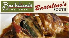 Get $30 worth of dinner for only $15 at Bartolino's Osteria & Bartolino's South!