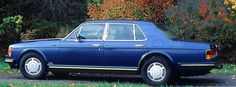 Bentley Mulsanne Turbo, 1986, #SCBZS0T04GCH15620. Quite a number of Mulsanne Turbo owners were keen to update their cars by light alloy wheels once these were offered by the company.
