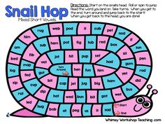 Practice phonics while playing! 70 Spelling patterns and sight words included
