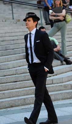 matt bomer/Neal caffrey LOVE the fedora!!!!!!!!