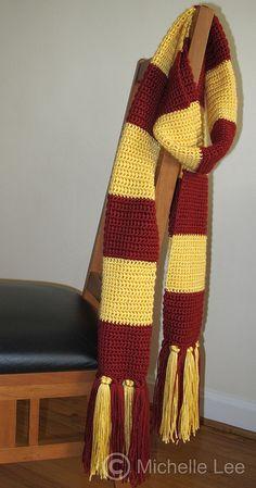 Harry Potter Scarf by AdventuresOfSupermom, via Flickr