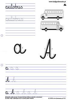kaligrafowanie.pl index.php?q=node 68 1 J, Drupal, Handwriting, Montessori, Hand Lettering, Language, Classroom, Children, School