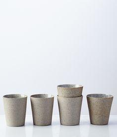 stoneware + porcelain cup