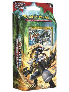 Baraja temática Truenos Estrepitosos de la expansión de Pokémon Sol y Luna Invasión Carmesí