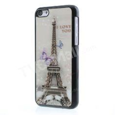 #Pretty 3D #EiffelTower & #Butterflies Case for #iPhone5c