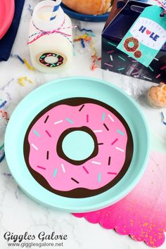 DIY Donut Plates for