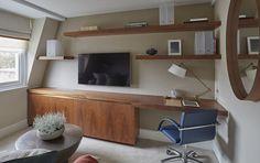 Fashionable attic - gorgeous photo