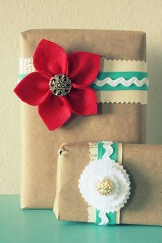 Gift Wrapping Flower