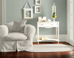 Paint Color | SW Oyster Bay (shade darker than comfort gray; 2 shades darker than sea salt)