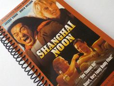 Notebook, 4.00 X 7.25, 90 pages, VHS Video Box, Upcycled Notebook, Gift Ideas, Blank Book, Spiral Notebook, Handmade Gift, Shanghai Noon by LeeEmporium on Etsy