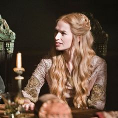 Trendy Games Of Thrones Hairstyles Cersei Lannister Ideas Game Of Thrones Cersei, Game Of Thrones Costumes, Game Of Thrones Tv, Game Costumes, Cercei Lannister, Ancient Greek Clothing, Queen Cersei, Lena Headey, Her Hair
