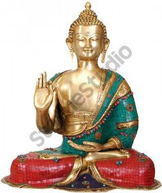 Large Size Home Garden Indoor Outdoor Décor Blessing Buddha Big Statue 28