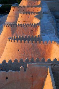 Uzbekistan Wall - City of Khiva        Ben Smethers