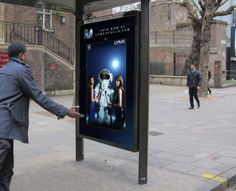 @GrandVisual always up to something interesting #OOH #DOOH, here Lynx Apollo launch, 'Astronaut Me' interactive posters