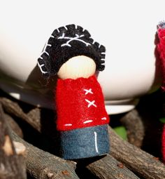 Little pirate peg doll to make