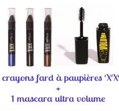 Gagnez 3 fards à paupière et 1 mascara de la marque Anne Faugère !