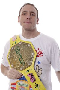 Come see Joey Chestnut, World Champion Eater at the Eastern Shore Wing War at Pork in the Park on Sunday, April 21. www.porkinthepark.org